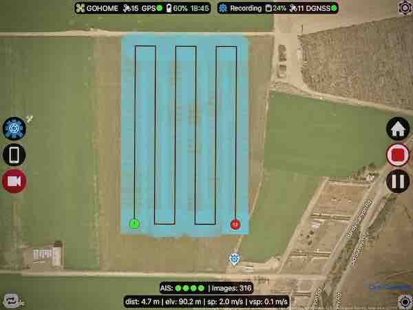 Flight Plan For DJI Drones by Beyond The Cube